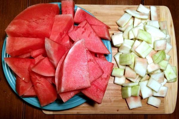fermented watermelon rind