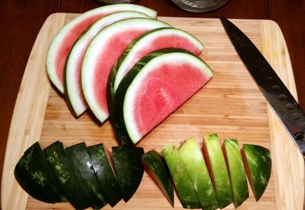 5 watermelon slices