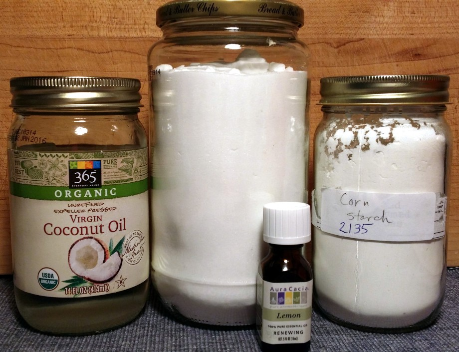 DIY Deodorant ingredients