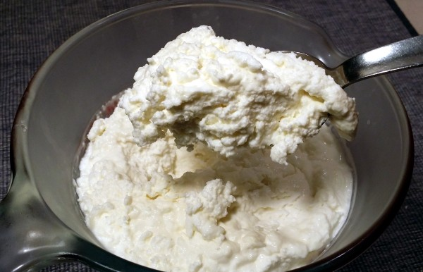 chilled ricotta