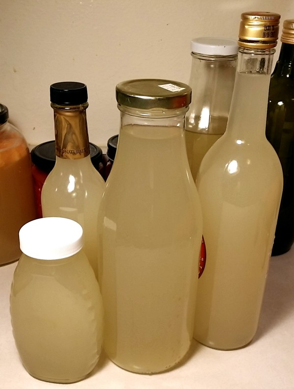 bottled vinegar