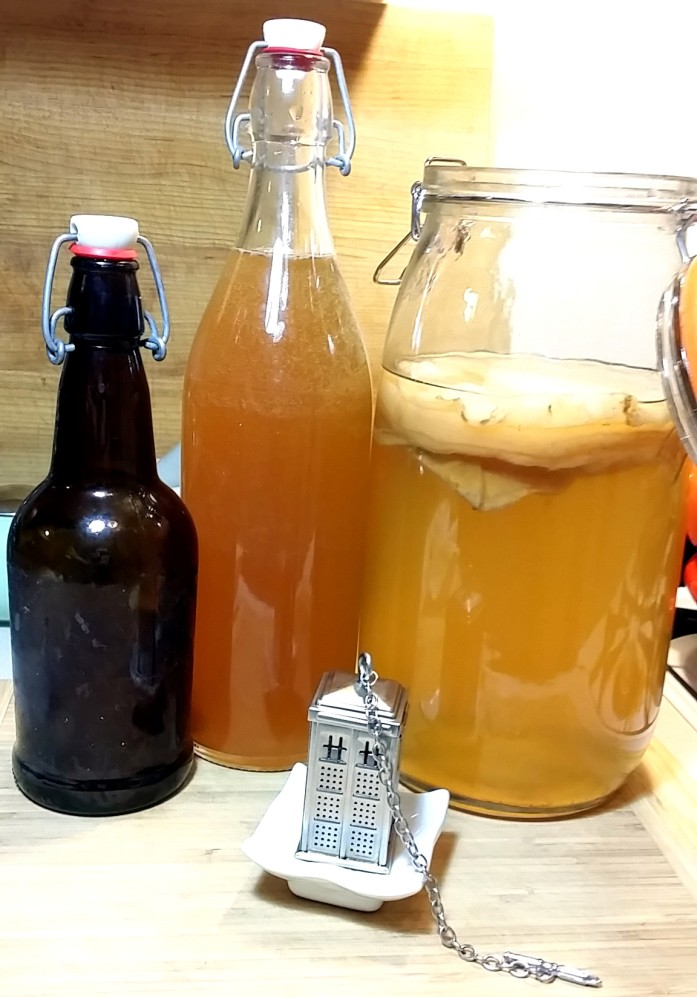 bottled and brewed