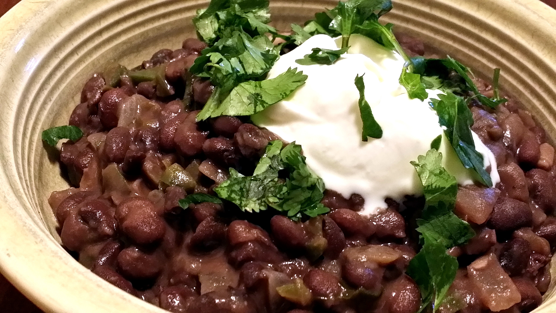 Not-Too-Spicy Black Beans   The Zero-Waste Chef