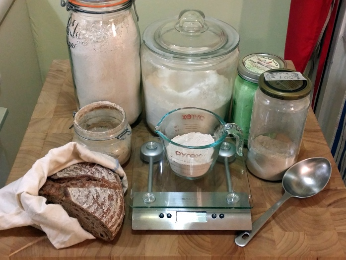sourdough ingredients